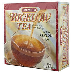 RC Bigelow Inc. Premium Tea 100 Packs (Pack of 10)