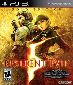 PS3 - Resident Evil 5 Gold Edition