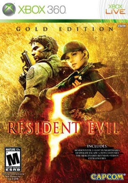 Xbox 360 - Resident Evil 5: Gold Edition