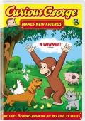 Curious George: Makes New Friends! (DVD)