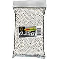 'White' TSD Tactical BB25EX3M 0.25g 6mm Airsoft BBs (Bag of 3000)