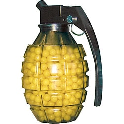 TSD SPORTS KW033 0.12g 6mm Plastic Yellow Airsoft BBs Grenade Feeder (800 Count)