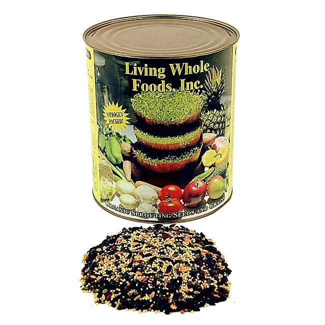 Living Whole Foods Organic 5-pound Bird Seed Mix