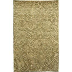 Julie Cohn Hand-knotted Royal Abstract Design Wool Rug (9' x 13')