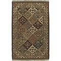 Hand-knotted Sangli New Zealand Wool Rug (8' x 10')