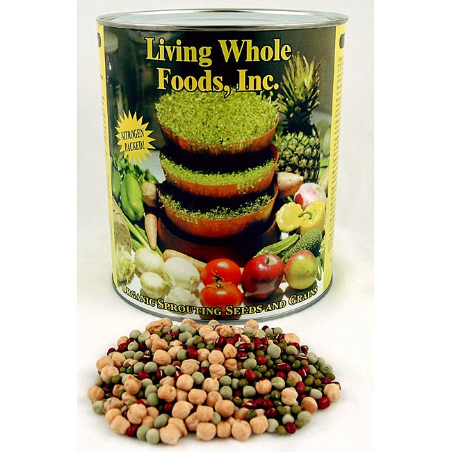Organic Bean Salad Sprouting Seed Mix
