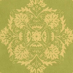 Safavieh Hand-hooked Motifa Light Green Wool Rug (8'9 x 11'9)
