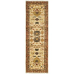 Oushak Hand-knotted Legacy Heirloom Wool Rug (3' x 10')