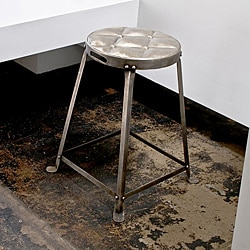 Metal Stackable Tufted Stool India