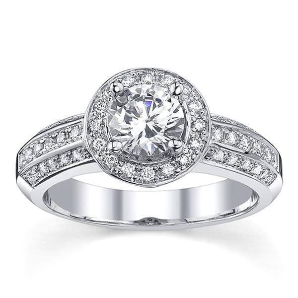 14k Gold 1ct TDW Certified Diamond Engagement Ring (I, SI2)