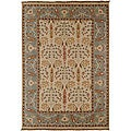 Hand-knotted Legacy New Zealand Floral Multi-Color Wool Rug (9' x 12')