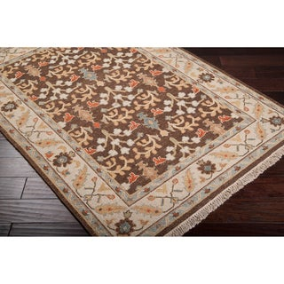 Hand-Knotted Legacy New Zealand Wool Area Rug (6' x 9')