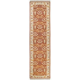 Hand-knotted Legacy New Zealand Wool Runner Rug (2'6 x 10')