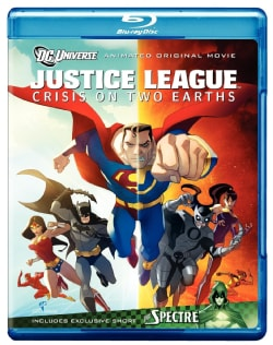 Justice League: Crisis On Two Earths (Blu-ray Disc)