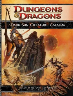 Dark Sun Creature Catalog (Hardcover)