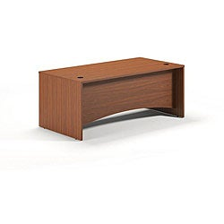 Mayline Brighton Series 72-inch Rectangular Cherry Desk Shell