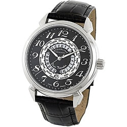 Stuhrling Original Men's Time Traveler Water-Resistant Swiss Quartz Watch