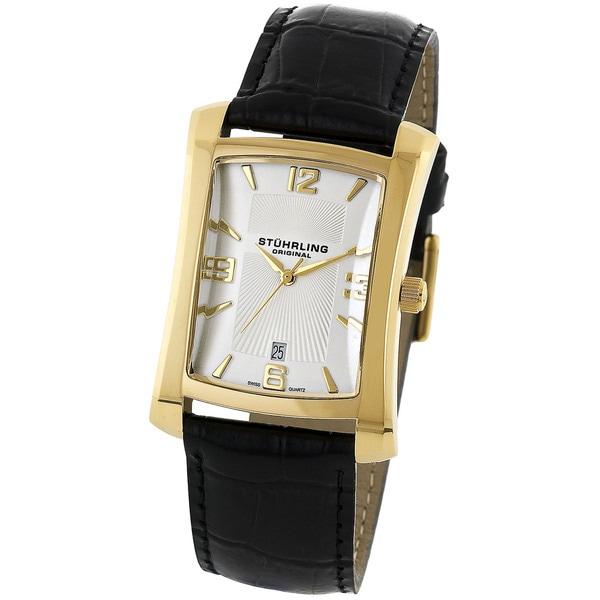 Stuhrling Original Men's Gatsby Classic Swiss Quartz Watch