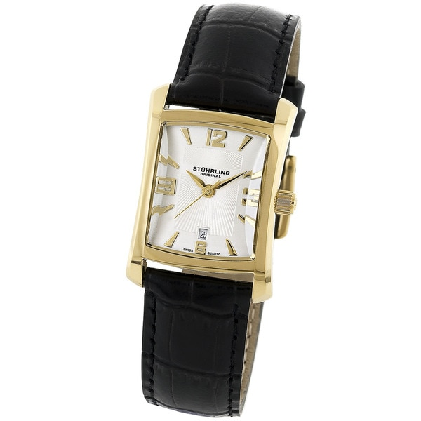 Stuhrling Original Lady Gatsby Classic Water-Resistant Swiss Quartz Watch
