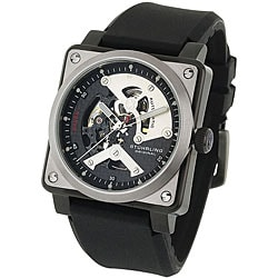 Stuhrling Original Men's Raven Diablo Automatic Skeleton Watch