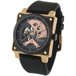 Stuhrling Original Men's Raven Diablo Water-resistant Automatic Watch