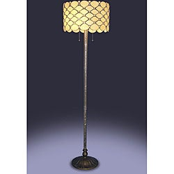 Tiffany-style Jeweled Floor Lamp