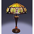 Tiffany-style Sunrise Table Lamp