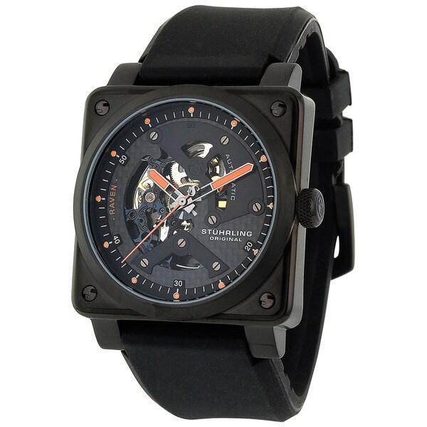 Stuhrling Original Men's Raven Diablo Automatic Watch