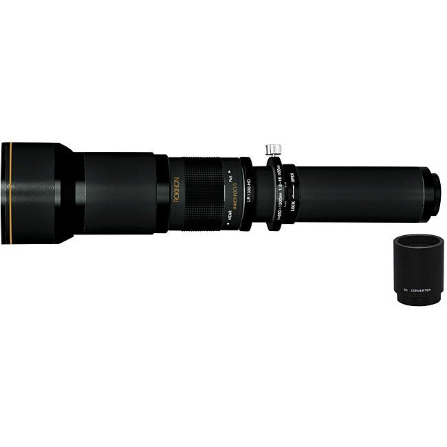 Rokinon/ Nikon 650-2600mm Super Telephoto Zoom Lens