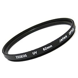 Zeikos 62mm UV Multi Coated Glass Filter