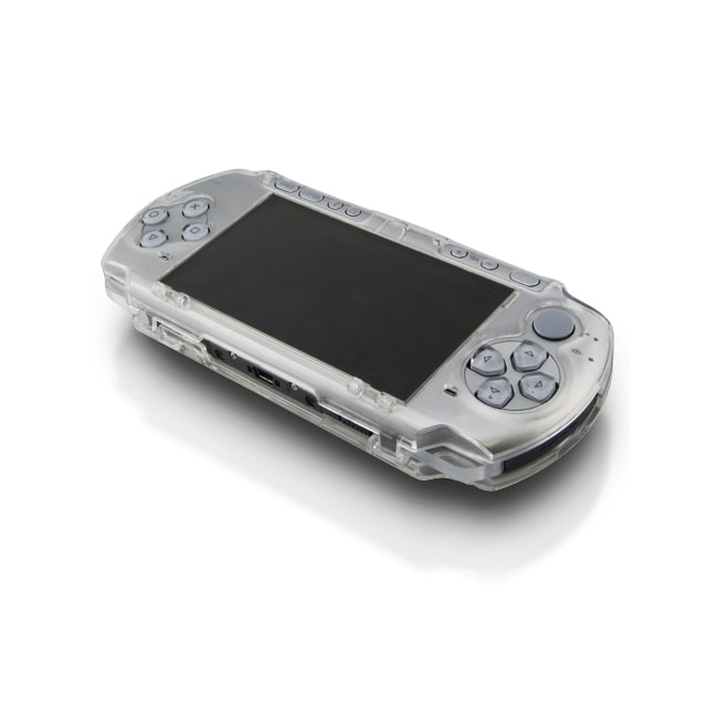 Eforcity Clip on Crystal Case for Sony PSP 3000, Clear