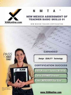 NMTA New Mexico Teacher Assessment of Basic Skills 01 (Paperback)
