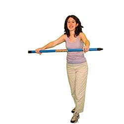 Cando Green Stripe 4.5-pound Weight Bar