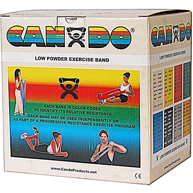 Cando XX-light 50-yard Tan Low Powder Exercise Band