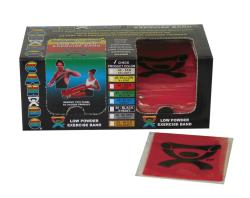 Cando Red Latex Exercise Bands 4-foot Strips (Pack of 40)