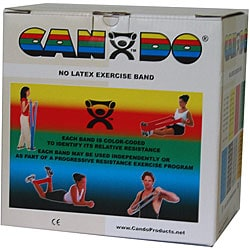 Cando 50-yard Tan XX-light Exercise Band