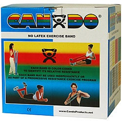 Cando 50-yard Blue Heavy Exercise Band