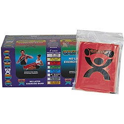Cando Red No-latex 4-foot Strip Exercise Bands (Pack of 40)