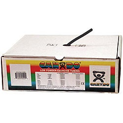 Cando 100-foot Black X-heavy Exercise Tubing - 105725