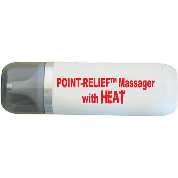 Point-Relief Heated Mini-Massager with Accessories