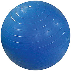 Cando Inflatable 34-inch Blue Exercise Sensi-Ball