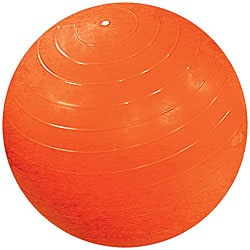 Cando Inflatable 47-inch Orange Exercise Sensi-Ball