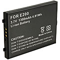 Eforcity Li-Ion Replacement Battery for Sandisk Sansa e200 Series