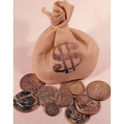 American Coin Treasures US Mint 1/4-Troy Pound Bag of Silver Coins