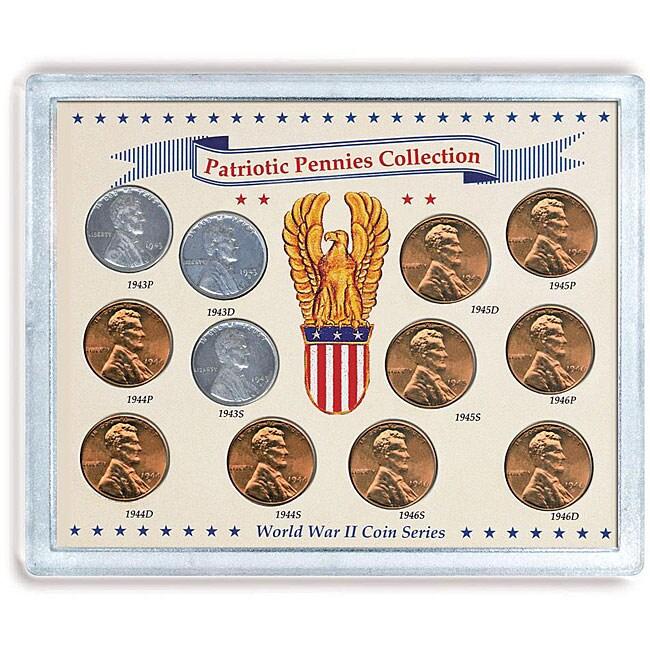 American Coin Treasures Patriotic Penny Collection