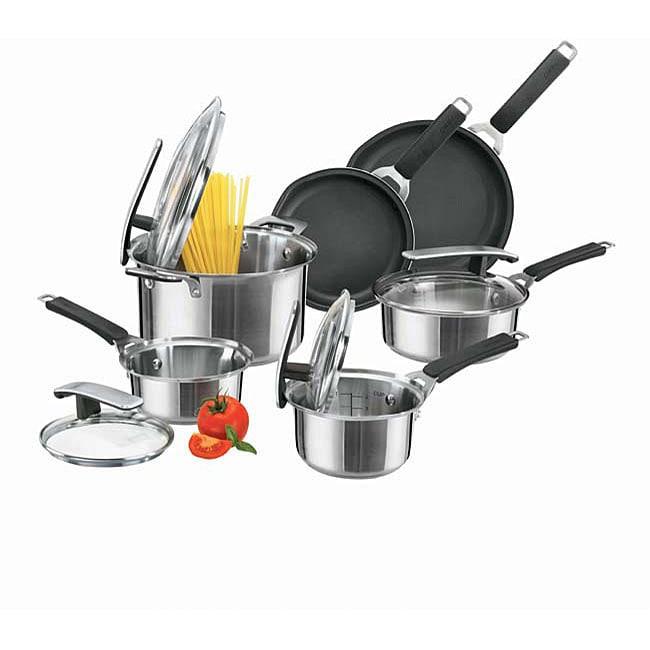 Pyrex Stainless Steel 10-piece Cookware Set