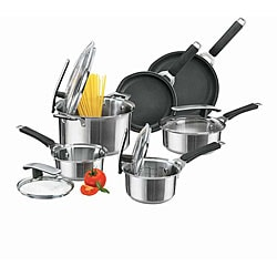 Pyrex Stainless Steel 10-piece Cookware Set