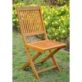 International Caravan Royal Tahiti Folding Chairs (Set of 2)
