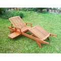 International Caravan Acacia Large Sun Lounger