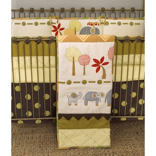 Cotton Tale Elephant Brigade 4-piece Crib Bedding Set